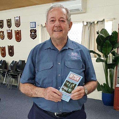 Craig Bell is the owner of J & C Auto's in Redcliffe