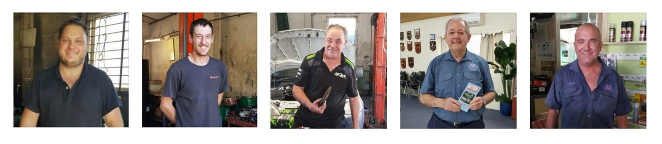 the team at J & C Autos Redcliffe